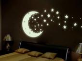 флуоресцентные обои со звездами
