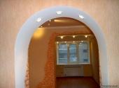 дизайн арок из гипсокартона фото