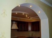 подсветка межкомнатных арок