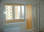 двери балконные с окном