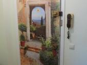 декорирование старой межкомнатной двери