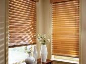 деревянные шторы-жалюзи для кухни