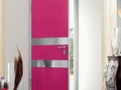 оригинальный дизайн входной двери