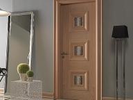 современный дизайн межкомнатной двери