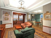 Дизайн гипсокартонных потолков фото