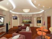 Дизайн подвесных потолков фото