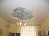 Многоуровневые потолки из гипсокартона фото