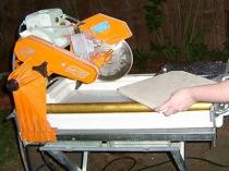 плиткорез с водяным охлаждением