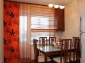 крисивые и необычные кухонные шторы