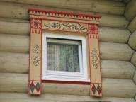 расписной наличник для окна