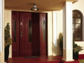 двери деревянные наружные