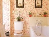 флизелиновые обои для ванной комнаты