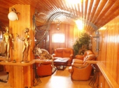 вагонка в интерьере деревянного дома