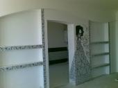 стены из гипсокартона фото