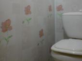 отделка туалета пластиковыми панелями фот