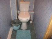 ремонт туалета стеновыми панелями ПВХ