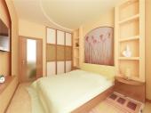 Гипсокартонные потолки фото спальня