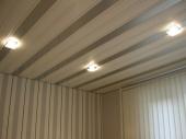 Потолки из панелей пвх фото