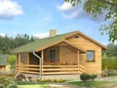Пристройка к деревянному дому фото