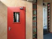 огнестойкая дверь со стеклом