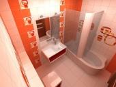 Ремонт ванной комнаты в хрущевке фото