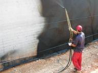 гидроизоляция стен жидкой резиной