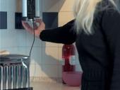 выдвижная кухонная розетка