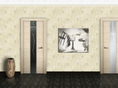 двери шпонированные беленый дуб