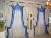 оригинальные шторы в гостиную