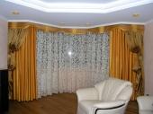 двойные шторы для гостиной