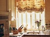 кухонные шторы на кулисках