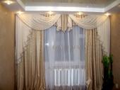 шторы для зала с драпировкой