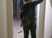 замеры перед установкой металлической двери