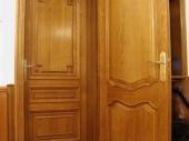 двойные входные деревянные двери