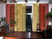 шторы в японском стиле для гостиной