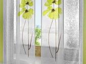 полупрозрачные шторы в японском стиле