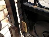 электромагнитный замок на калитке